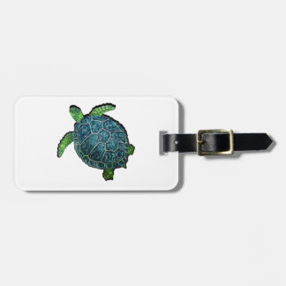 THE TURTLE VIEW LUGGAGE TAG