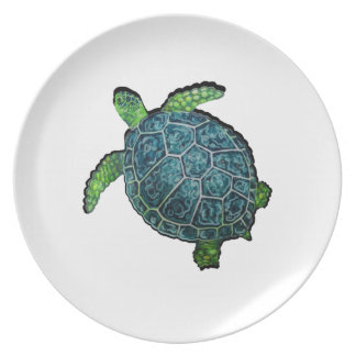 THE TURTLE VIEW PLATE