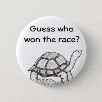 The Turtle Won Badge 2 Inch Round Button