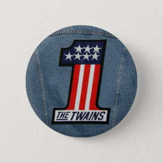 The TWAINS 1 Up Button! 2 Inch Round Button