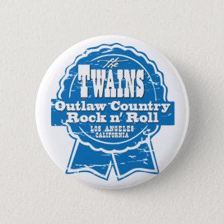 The TWAINS beer drinkin' button! 2 Inch Round Button