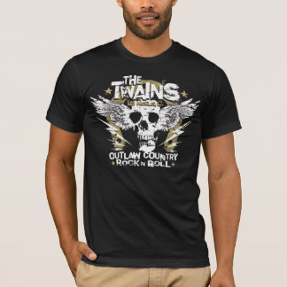 The TWAINS Skull n' Horseshoe t-shirt! T-Shirt