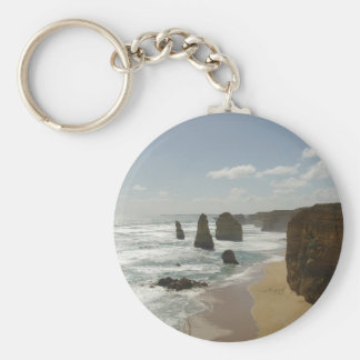 The Twelve Apostles Basic Round Button Keychain