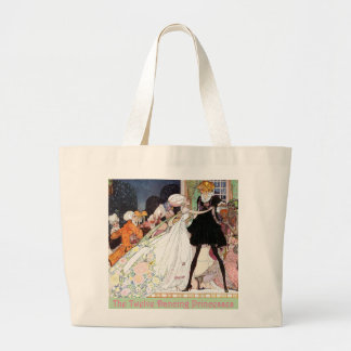 The Twelve Dancing Princesses Large Tote Bag