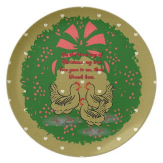 The Twelve Days of Christmas Collection: Day Three Party Plate