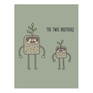 The Twig Brothers Postcard