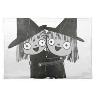 the twin witches placemat
