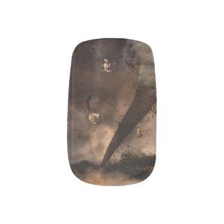 The twister minx nail art