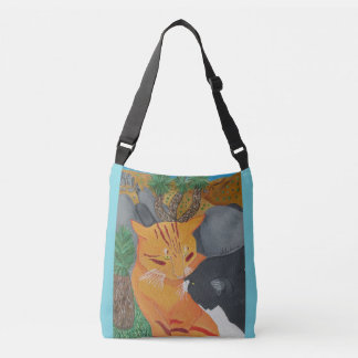 The Two Cats Kissing At Joshua Tree Bag