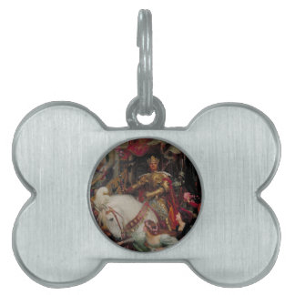 The Two Crowns [Sir Frank Dicksee] Pet ID Tag