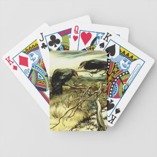 The Two Crows Bicycle Playing Cards