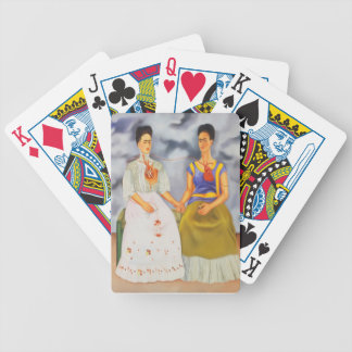 The Two Fridas Bicycle Playing Cards