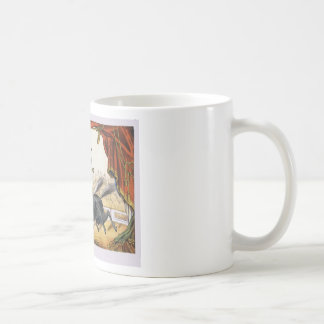 The two-horse act mugs