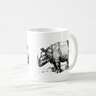 The Two Rhinoceroses Coffee Mug