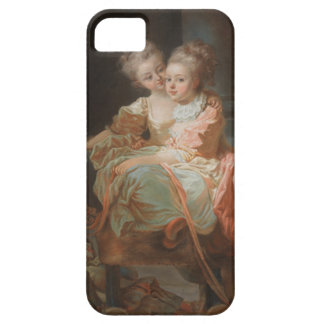 The Two Sisters - Jean-Honoré Fragonard iPhone 5 Cases