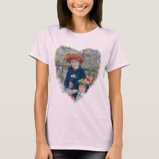 The Two Sisters on the Terrace by Renoir T-Shirt