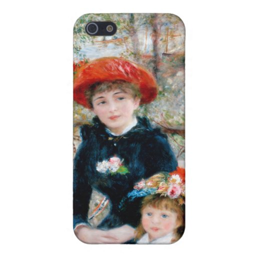 The Two Sisters, On the Terrace, Renoir Case For iPhone 5