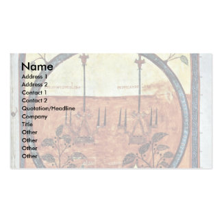 The Two Witnesses By Emetrius Pack Of Standard Business Cards