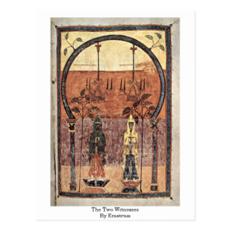 The Two Witnesses By Emetrius Postcard