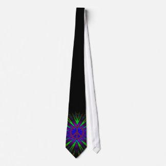 The Tye Dyed Hippie Tie Purple