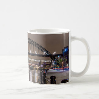 The Tyne Bridge at night Coffee Mug