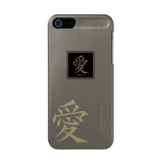 The typography of the Chinese character, love Incipio Feather® Shine iPhone 5 Case