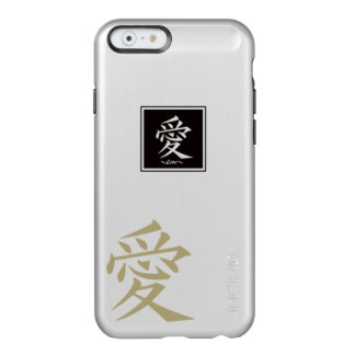 The typography of the Chinese character, love Incipio Feather® Shine iPhone 6 Case
