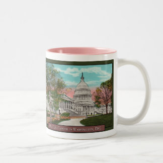 The U.S. Capitol Vintage Coffee Mug