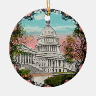 The U.S. Capitol Vintage Ornament