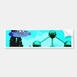 the UFOs Bumper Sticker