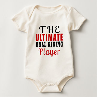 THE ULTIMATE BULL RIDING FIGHTER BABY BODYSUIT