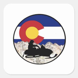 The Ultimate Challange Square Sticker