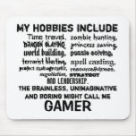 The Ultimate Gamer's Creed (White) Mousepad