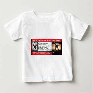 The Ultimate Hip-Hop Video Game Baby T-Shirt