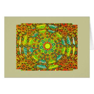 The Ultimate Mandala Greeting  Note Card