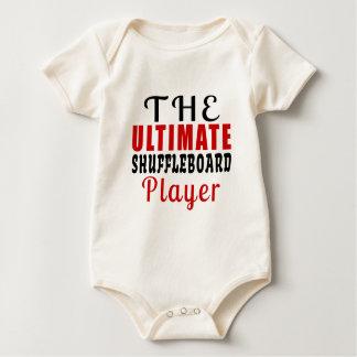 THE ULTIMATE SHUFFLEBOARD FIGHTER BABY BODYSUIT