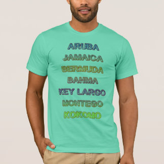 The Ultimate vacation T-Shirt