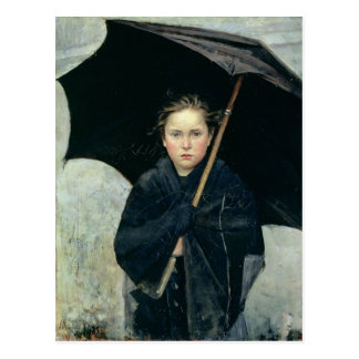 The Umbrella by Marie Bashkirtseff CC0220 Postcard
