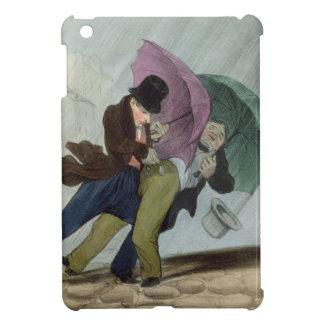 The Umbrella Trip, from 'Flibustiers Parisiens' iPad Mini Cases