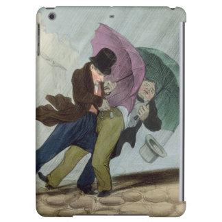 The Umbrella Trip, from 'Flibustiers Parisiens' iPad Air Cases