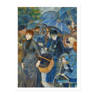 The Umbrellas by Renoir Postcard