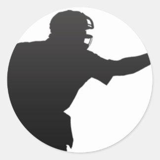 The Umpire Round Sticker