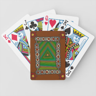 The Unblinking Eye of God Bicycle Playing Cards