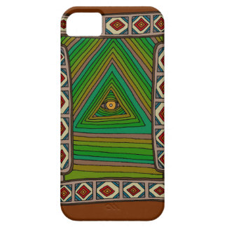 The Unblinking Eye of God iPhone 5 Cover