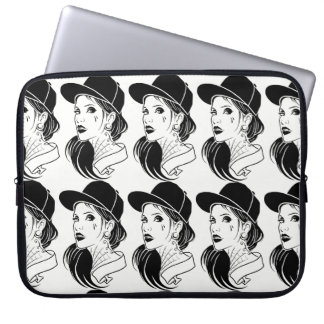The Unconventional Girl Laptop Computer Sleeves