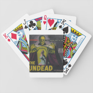 The Undead Zombie Movie Bicycle Playing Cards