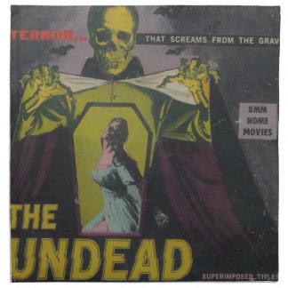 The Undead Zombie Movie Napkin