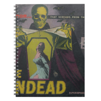 The Undead Zombie Movie Notebook