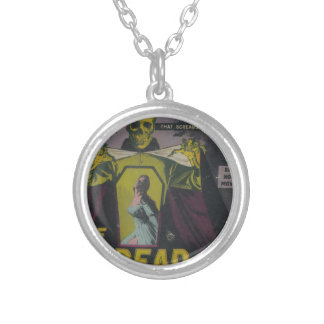 The Undead Zombie Movie Silver Plated Necklace
