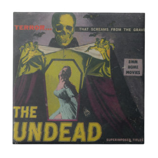 The Undead Zombie Movie Tile